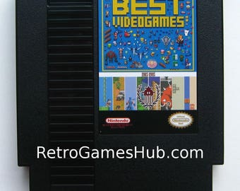 The BEST of NES Cartridge - 143 Classic Nintendo Entertainment System Games