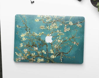 "Macbook Air skin Van Gogh ""Blossoming Almond Tree"" Macbook Air 13 skin Macbook Pro 15 skin Macbook Air 2017 skin. Macbook Pro skin."