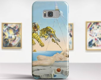 "Salvador Dali, ""Gala and the Tigers"". Samsung Galaxy S8 Case LG V30 case Google Pixel Case Galaxy J7 2017 Case and more. Art phone cases."