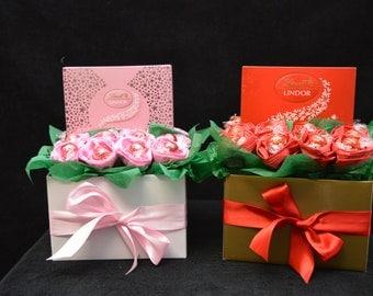 Lindt Rose Box Bouquet