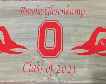 Wooden Graduation Gift