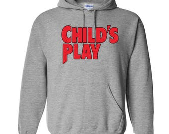 Childs Play Chucky Unisex Hoodie Pullover Hooded Sweatshirt Many Sizes Colors Custom Horror Halloween Merch Massacre