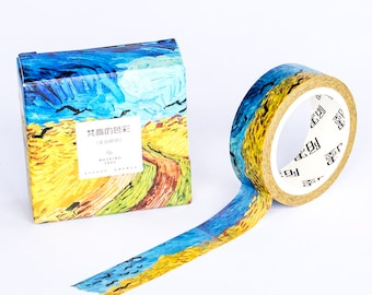 Washi Tape - Wheat Field With Crows   Masking Tape Van gogh