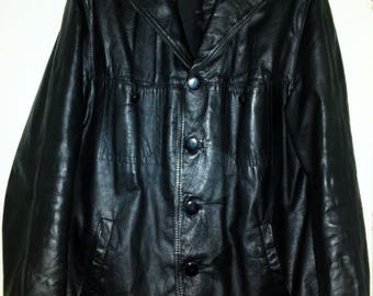 RUCON S.r.l.  - Leather jacket - Made in ITALY - size XL