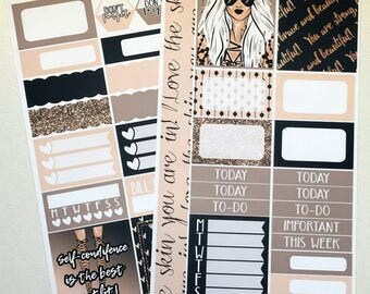 Confidence * NON-FOILED PERSONAL Sized Planner Sticker