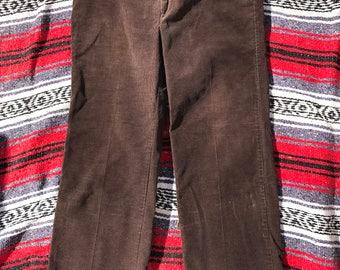 Sears Fieldmaster Corduroy Pants Brown