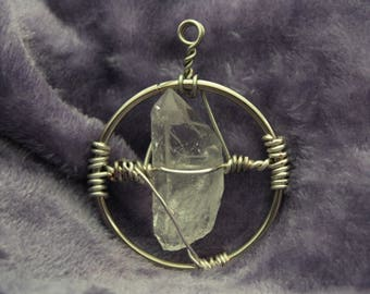 Illumination Quartz Crystal Pendant | 12