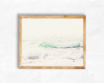 Instant Digital Download Malibu Waves Beach Photography California Pacific Coast Highway travel Print Wall Art DIY dorm apartment bedroom