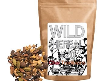 Wild Herbal #20 Chai Traditions - 7 Ingredient Blend (4 ounce)