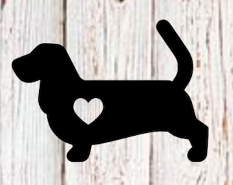 Decal | Basset Hound Love