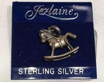 Jazlaine Sterling Silver, Rocking Horse