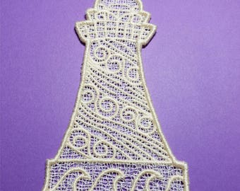 Lighthouse - Free Standing Lace - Machine Embroidery Design