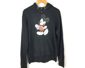 MICKEY MOUSE by Disney Cartoon Collection Hoodies Large Size Hoodies Big Cartoon Logo