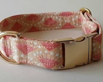 Make a Wish Patterned Buckle Dog Collar