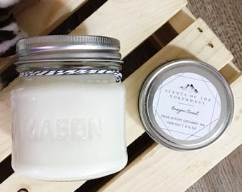 soy candle - soy candles handmade - soy candles 8oz - soy candles mason jars - mason jar candles - soy candles wholesale - candle decor