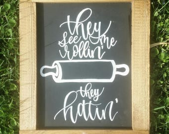 Custom chalkboard art for your kitchen