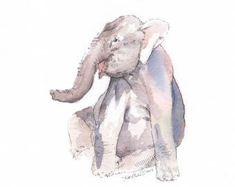 """9 x 12"""" Made to Order Watercolor 