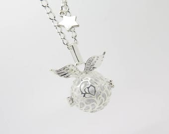BOLA pregnancy angel wing, White Star, MOM gift idea