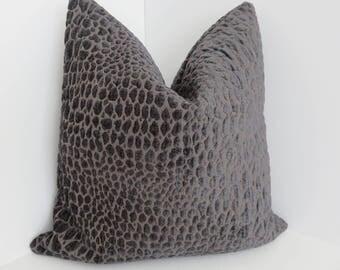 Swavelle/Milk Creek Fabrics- Gabbana Smoke Pillow Covers- Smoke Pillows - Pillow Covers- Accent Pillows- Mill Creek Pillows