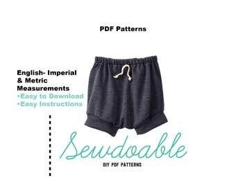 Shortie PDF Pattern