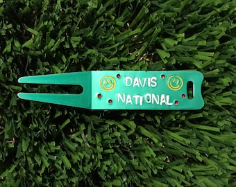 Custom Hand-Stamped Divot Tools
