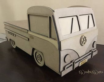 Aussie Baby Photo Prop - VW Kombi Ute - Australia Only