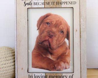 In Memory of Dog Frame Pet Remembrance Frame Dog Cat Memorial Frame Dog Loss Frame Pet loss Gift Cat frame  Pet Sympathy Gift Cat Memorial
