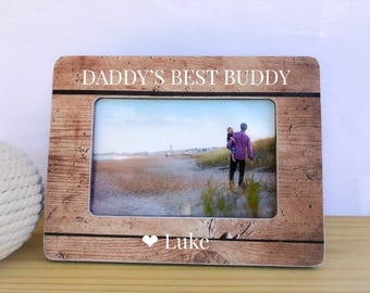 Daddy and Me Frame Father's Day Gift Personalized Picture Frame Dad Father GIFT Father Son Picture Frame Father's Day