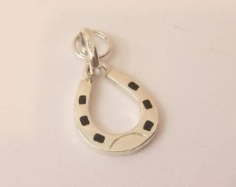 Authentic Links of London Sterling Silver Lucky Horse Shoe Sweetie Charm