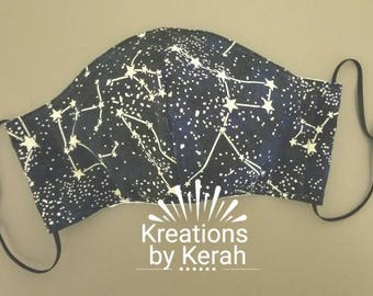 Adjustable Allergy Mask: Constellations