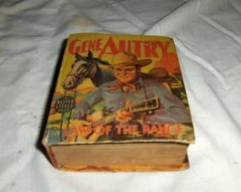 """Gene Autry """"Law Of The Range"""""""