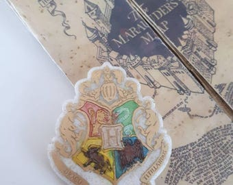 Hogwars crest Coat of arms Harry Potter resin