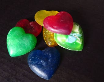 Small Heart Soap pack of 5