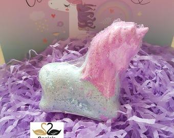 3D Unicorn Shaped Bath Bomb