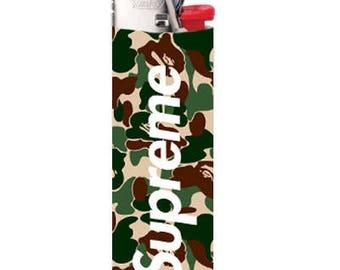Supreme Bape Hypebeast Lighter