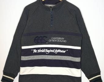 Canterburry of New Zealand Sweatshirt Pull Over Size XLarge Very Good Condition