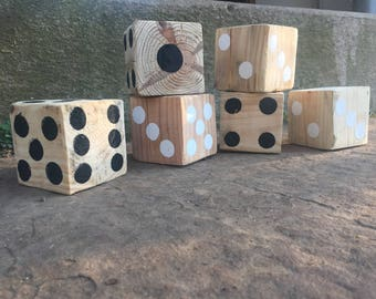 Handcrafted Wooden Dice