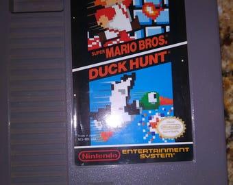 Duck hunt / super Mario bros NES cartridge