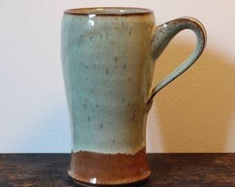 Tall Green Mug