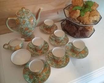 British Empire miniature tea set