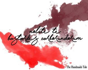 Handmaids Tale Art Print