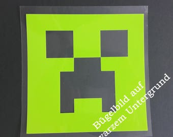 Patch Minecraft Creeper 14 cm x 14 cm