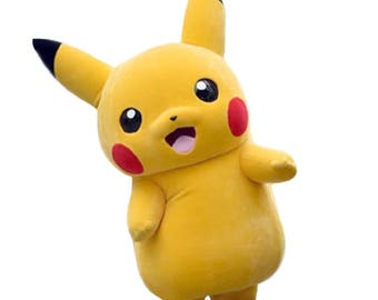 Pikachu Pokemon Style Mascot Costume