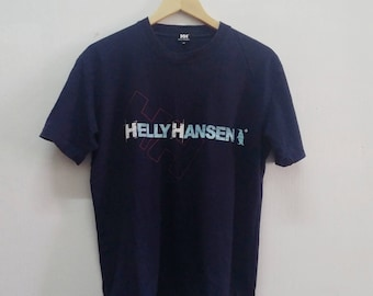 SALE!! Vintage Helly Hansen Big Logo t shirt