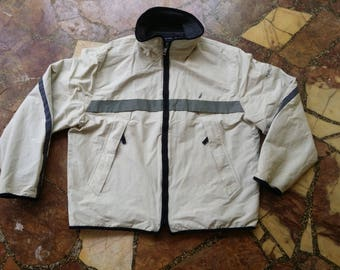Vintage NAUTICA Simple Design Windbreakers jacket