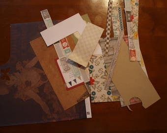 sets of sheets for scrapbooking project