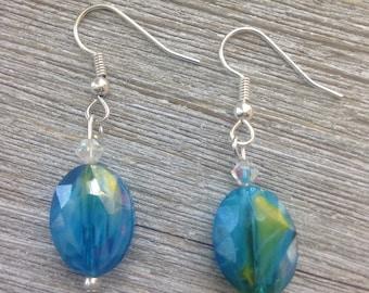 Sun and Sky earrings