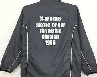 Vintage AIRWALK Windbreaker Jacket Skateboarding Streetwear Size 150