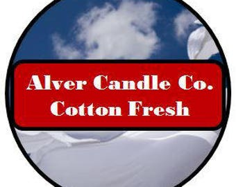 Handcrafted Soy Wax Melts (Cotton Fresh) Alver Candle Company