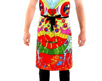 Volcano Spring - Apron for Adults and Kids